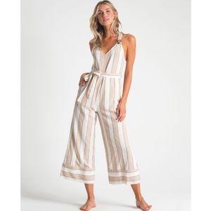 BILLABONG | Bella Day Overalls Striped Jumpsuit